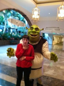 Shrek and Morgan