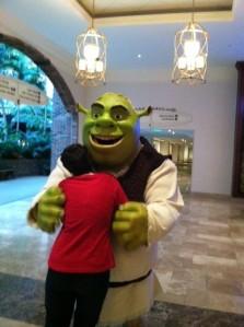 Shrek Hug
