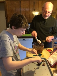 Cookies with dad
