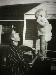 dad and me 1958