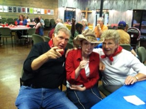 Howdown Mamaw. Papaw, and Morgan