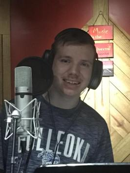 Logan in the Studio