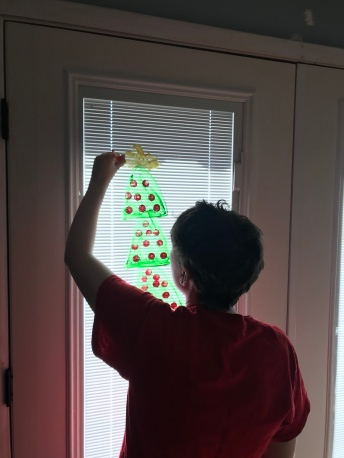 Window Christmas Tree 1